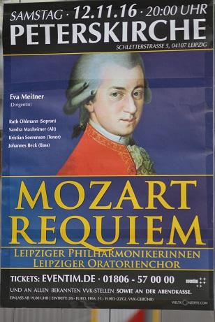 Peterskirche - Mozart Requiem am 12.11.2016