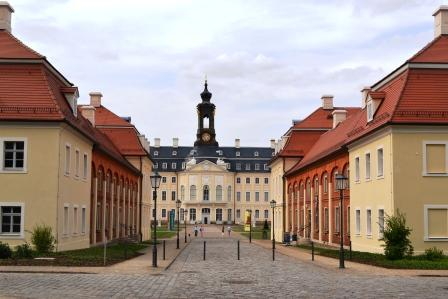 Jagdschloss Hubertusburg bei Leipzig