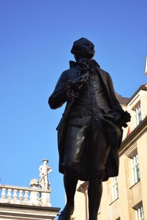 Student Goethe in Leipzig
