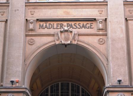 Mädler-Passage von Anton Mädler