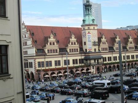 Markt Leipzig - Mittelpunkt der Stadt