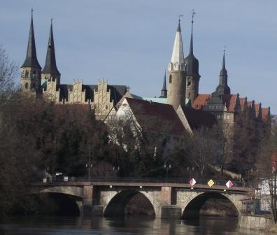 Merseburger Dom mit Schloss