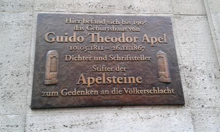 Theodor Apel in Leipzig
