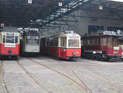 Straßenbahnhof Leipzig - Straßenbahnmuseum