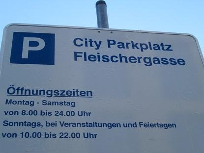 Parken Leipzig Zentrum