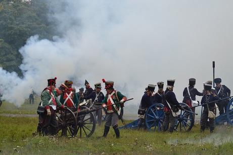 Völkerschlacht am 18. Oktober 1813