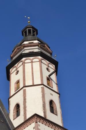 Turm der Thomaskirche Leipzig