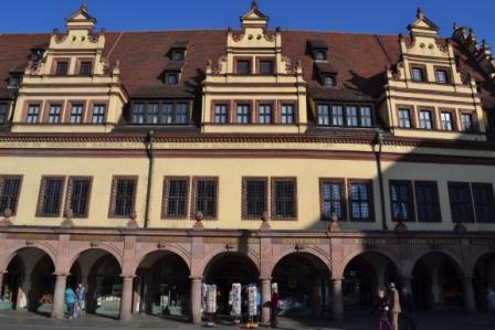 Altes Rathaus Leipzig Arkaden