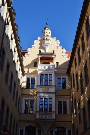 Barthels-Hof Leipzig Erker