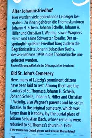 Alter Johannisfriedhof zu Leipzig