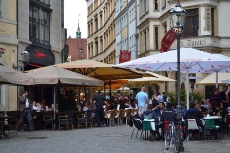 Barfußgäßchen Leipzig