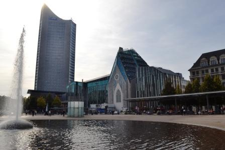Augustusplatz mit Universität Leipzig