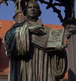 Martin Luther Leipzig: auf der Pleißenburg