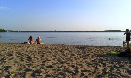 Baden im Cospudener See