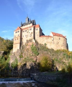 Ausflug auf Burg Kriebstein von Leipzig
