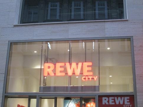 Leipzig - Sonntag einkaufen bei Rewe