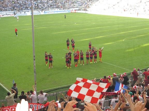 RB Leipzig gegen 1860 München Allianz-Arena