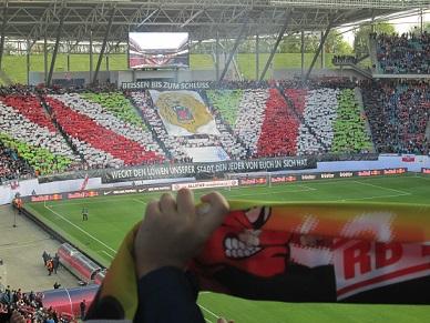 RB Leipzig auf dem Weg in die erste Bundesliga