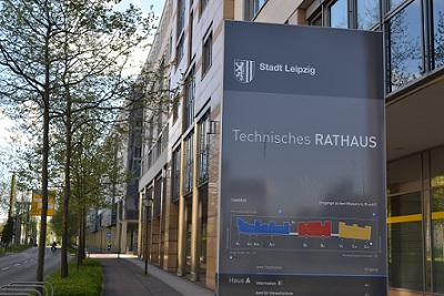Leipzig Gewerbeamt im technischen Rathaus