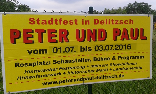 Stadtfest Delitzsch - Peter und Paul