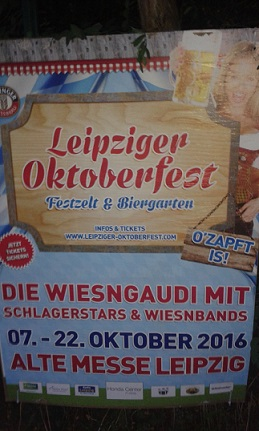 Leipziger Oktoberfest - Alte Messe 2016