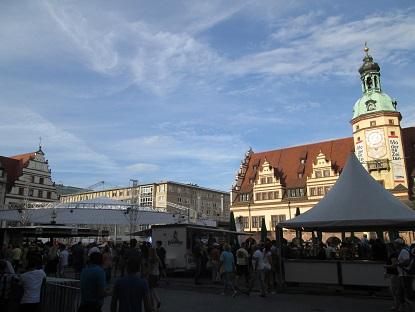 Reisevorbereitung für Leipzig